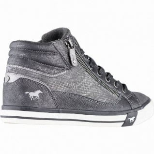 Mustang coole Damen Synthetik Winter Sneakers graphit, warmes Frottefutter, Mustang Laufsohle, 1641146/37 - Vorschau 2