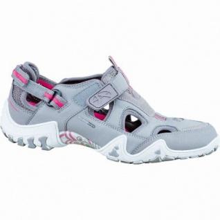 Allrounder by Mephisto Felinda Damen Sneaker grigio, Leder Synthetik kombiniert, anatomisches Fußbett, 1236266/5.0