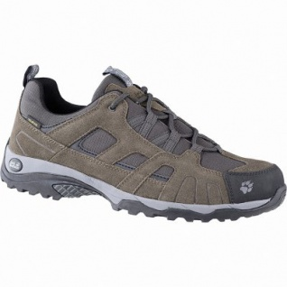 Jack Wolfskin Vojo Hike Texapore Men Herren Leder Mesh Outdoor Schuhe wood, Trekking Laufsohle, Einlegesohle, 4441175/8.5