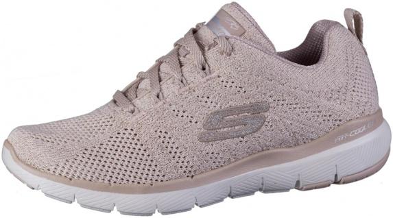 SKECHERS Flex-Appeal 3.0 Damen Sneakers rose, Strickmaterial, Air Cooled Memo...