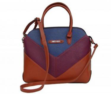 Angel kiss AK5968 multicolor modische Tasche, Handtasche, Shopper, 1 Hauptfach, langer Trageriemen, 36x30x10 cm