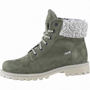 Richter Mädchen Leder Tex Boots birch, 11 cm Schaft, mittlere Weite, Warmfutter, warmes Fußbett, 3741223/36