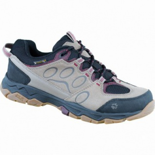 Jack Wolfskin MTN Attack 5 Texapore Low W, Damen Leder Outdoor Schuhe berry, 4435148/8.0