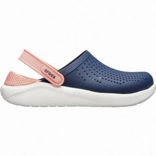 Crocs Lite Ride Clog superweiche + leichte Damen Clogs navy, Massage Fußbett, 4342108/36-37