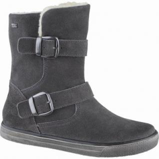 Indigo coole Mädchen Leder Winter Tex Stiefel grey, Warmfutter, warmes Fußbett, 3739163