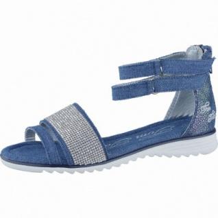 TOM TAILOR coole Mädchen Textil Sandalen jeans, TOM TAILOR Laufsohle, 3538106/40