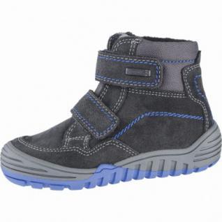 Richter Jungen Winter Leder Tex Boots steel, Warmfutter, warmes Fußbett, mittlere Weite, 3739203