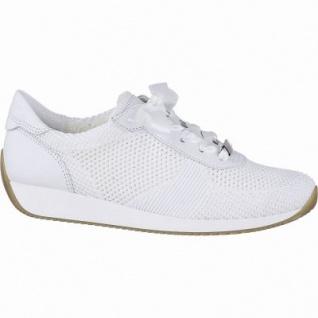 sports shoes 91fa7 75c1d Ara Lissabon-Fusion4 coole Damen Textil Sneakers weiß, herausnehmbares  Fußbett, Comfort Weite G, 1342127/4.0