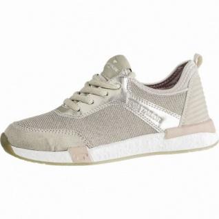 TOM TAILOR coole Mädchen Synthetik Metallic Sneakers rose, TOM TAILOR Memory-Effekt-Fußbett, 3340155/36