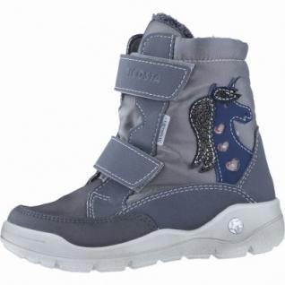Ricosta Annika Mädchen Winter Thermo Tex Boots antra, Warmfutter, warmes Fußbett, 3739189