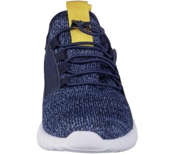 RICHTER Jungen Strick Sneakers atlantic, mittlere Weite, softes Leder Fußbett - Vorschau 4