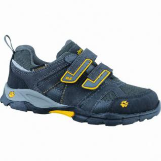 Jack Wolfskin VOLCANO Texapore VC Low K Jungen Leder Mesh Outdoor Schuhe burly yellow, 4435156