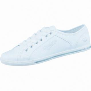 Dockers sportliche Damen Synthetik Sneaker weiß, gepolstertes Dockers-Fußbett, 1236162/36