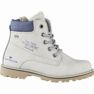TOM TAILOR Mädchen Winter Leder Imitat Tex Boots ice, 10 cm Schaft, Warmfutter, warmes Fußbett, 3741158/36