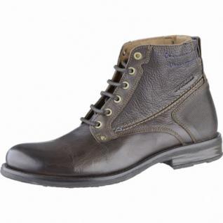 Dockers coole Herren Leder Boots braun, Mikrofleecefutter, Dockers Laufsohle, 2539162