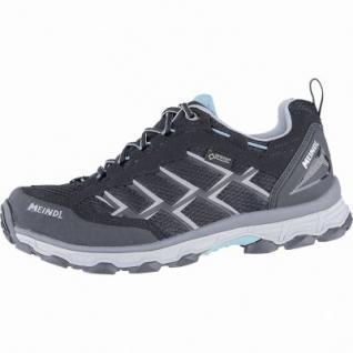Meindl Activo Lady GTX Damen Velour-Mesh Trekking Schuhe schwarz, Air-Active-Wellness-Sport-Fußbett, 4440111/7.5