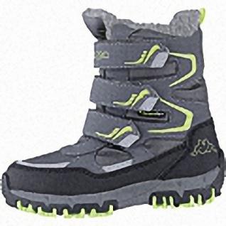 Kapppa Great Tex Jungen Synthetik Winter Tex Boots grey, 14 cm Schaft, Warmfutter, warmes Fußbett, 3741121/39
