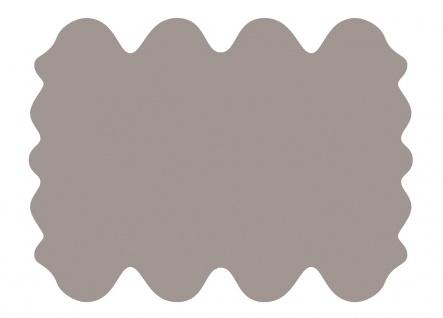 exklusive Lammfell Fellteppiche taupe gefärbt, 8 Einzelfelle, waschbar, Haarl...