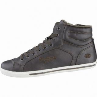 Dockers modische Damen Synthetik Winter Sneakers braun, Warmfutter, Sneakerlaufsohle, 1639279