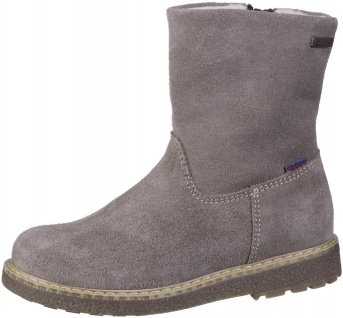 RICHTER Mädchen Winter Leder Stiefel almond, mittlere Weite, Tex Ausstattung,...