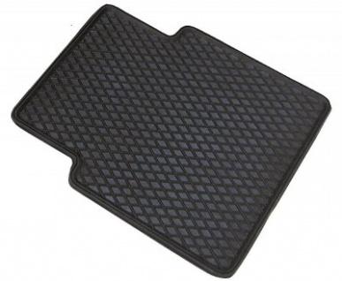 Universal Auto Gummimatten Randwaben schwarz hinten 41x37 cm, Anti Slip, rutschhemmende Spikes, Auto Fußmatten, Schutzmatten