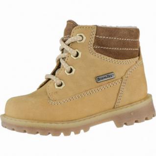 Richter Jungen Winter Leder Tex Boots mustard, Warmfutter, wames Fußbett, mittlere Weite, 3239126