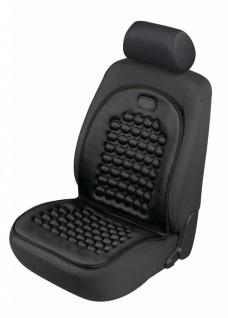 sportliche Universal Polyester Auto Sitzauflage Magnet Noppi schwarz, 30 Grad...