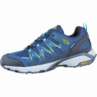 Brütting Expedition Herren Nylon Outdoor Schuhe marine/blau/lemon, Textilfutt...