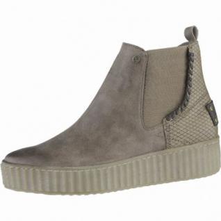 Dockers mega coole Damen Synthetik Sneakers taupe, Warmfutter, Plateaulaufsohle, 1639276