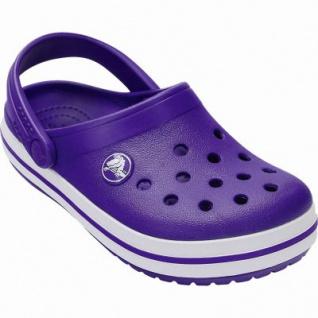 Crocs Crocband Clog Kids Mädchen, Jungen Crocs ultraviolet, anatomisches Fußbett, Belüftungsöffnungen, 4340120/29-30 - Vorschau 2