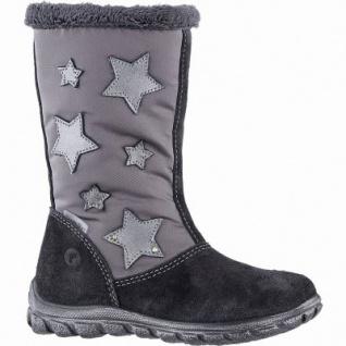 Ricosta Emilia Mädchen Winter Leder Tex Boots asphalt, 18 cm Schaft, Warmfutter, angerautes Fußbett, 3741257/34