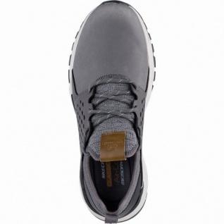 Skechers Relven Hemson coole Herren Synthetik Sneakers grey, Skechers Air-Cooled Memory Foam-Fußbett, 4241146/44 - Vorschau 2