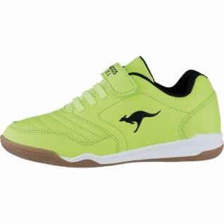 Kangaroos Vander Yard Mädchen, Jungen Synthetik Sportschuhe yellow, auch als Hallen Schuh, Meshfutter, Decksohle, 4041104/31