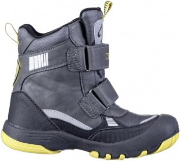KAPPA Road Tex Jungen Winter Synthetik Boots grey, Fleecefutter, wasserdicht,... - Vorschau 3