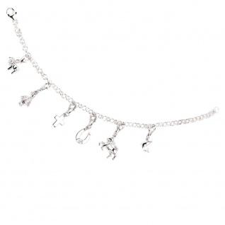 Einhänger Charm Pferd 925 Sterling Silber rhodiniert