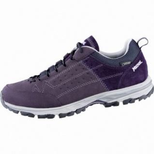 Meindl Durban Lady GTX Damen Leder Trekking Schuhe bordeaux, Air-Active-Fußbett, 4439120