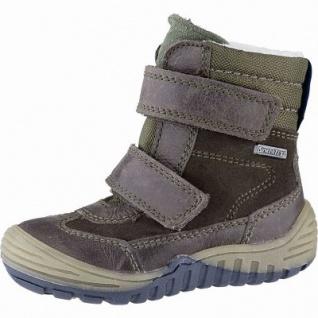 Richter Jungen Leder Sympatex Boots coffee, mittlere Weite, molliges Warmfutter, warmes Fußbett, 3241122/23