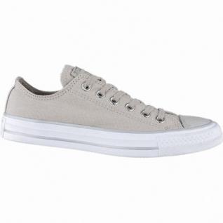Converse CTAS - Metallic Toecap - OX coole Damen Canvas Metallic Sneakers beige, Converse Laufsohle, 1240114/36