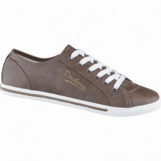 Dockers coole Damen Synthetik Sneakers reh, weiches Fußbett, modische Sneaker Sohle, 1240211