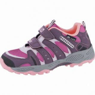 Lico Fremont V Mädchen Nylon Trekking Schuhe bordeaux, Textilfutter, Textileinlegesohle, 4439137/32