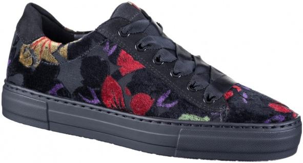 ARA Courtyard Damen Textil Sneakers schwarz, Extra Weite H, softes Ara Fußbett