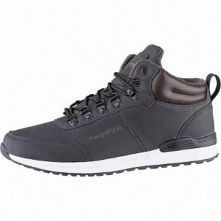 Kangaroos K-Duvak RTX Herren Synthetik Winter Tex Boots jet black, Warmfutter, weiches Fußbett, Laschen-Tasche, 2541110
