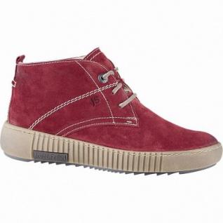 Josef Seibel Maren 02 Damen Leder Winter Boots rot, 7 cm Schaft, molliges Warmfutter, warmes Fußbett, 1641297/37