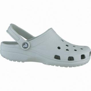 Crocs Classic Damen, Herren Crocs light grey, verstellbarer Fersenriemen, 4338105/42-43
