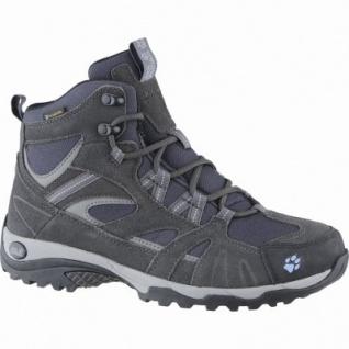 Jack Wolfskin Vojo Hike MID Texapore Woman Damen Leder Trekking Boots light sky, atmungsaktives Polyesterfutter, 4439142/7.0