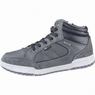 Lico Malte modische Jungen Synthetik Sneakers grau, Warmfutter, Textileinlegesohle, 3739152