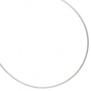 Halsreif 925 Sterling Silber 1, 5 mm 45 cm Kette Halskette Silberhalsreif