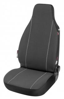 Serie Modulo Polyester Autositzbezug Vordersitzbezug Highback schwarz mit int...