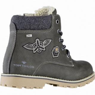 TOM TAILOR Jungen Leder Imitat Winter Tex Boots khaki, 11 cm Schaft, molliges Warmfutter, warmes Fußbett, 3741155 - Vorschau 2
