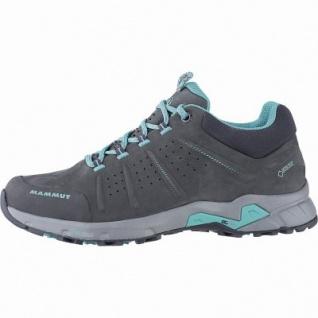 Mammut Convey Low GTX Women Damen Leder Outdoor Schuhe graphite, Base Cage für Trittsicherheit + Komfort, 4441166/7.5